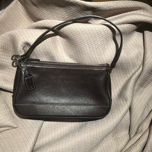 Coach bag small leather shoulder bag